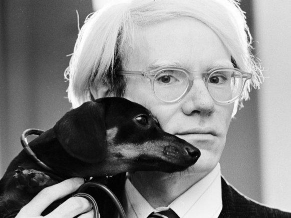 Andy Warhol perro arte