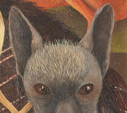 Perro Xolotl Frida Kahlo