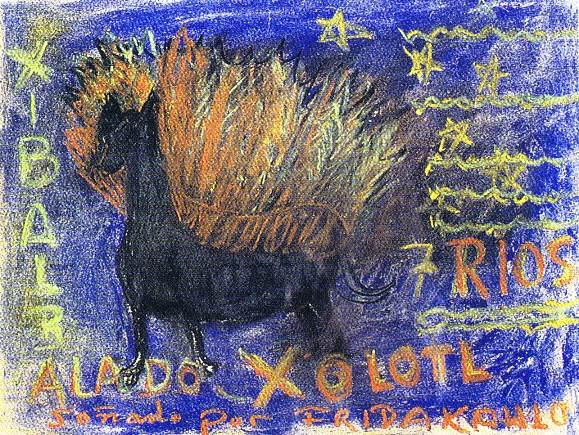 Xolotl Frida Kahlo