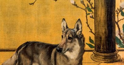 maud earl portrait dog